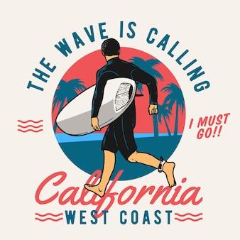 Surf laufen