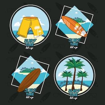 Surfzeit karte