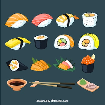 Sushi sammlung