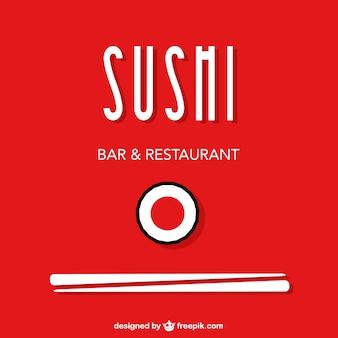 Sushi-vektor freie gestaltung