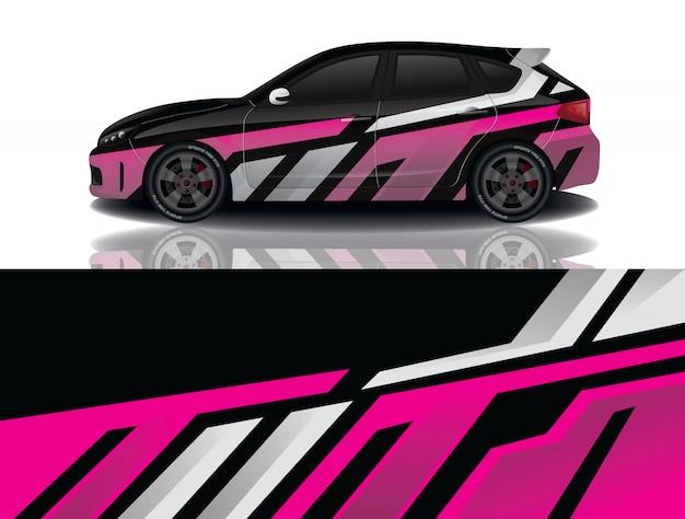 Suv auto aufkleber wrap design