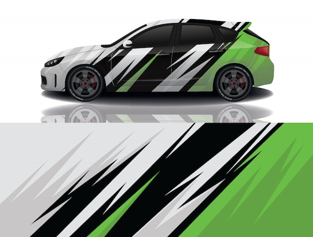 Suv auto aufkleber wrap illustration