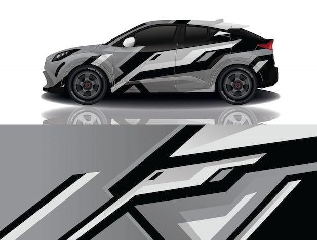 Suv auto aufkleber wrap illustration