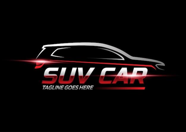 Suv-auto-logo-design-vorlage