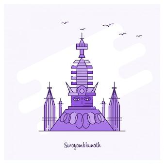 Swayambhunath wahrzeichen