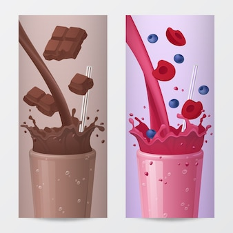 Sweet drink illustrationen