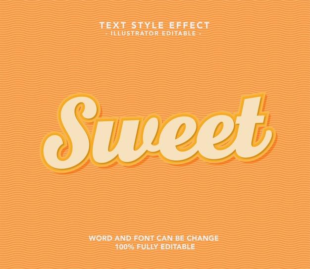 Sweet orange schriftart