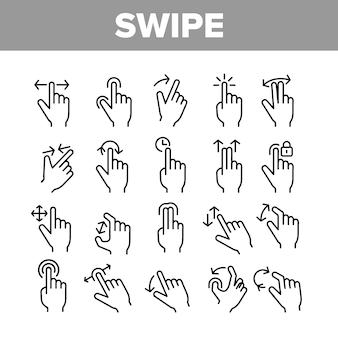 Swipe-geste