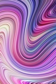 Swooshy linien malen texturdekoration