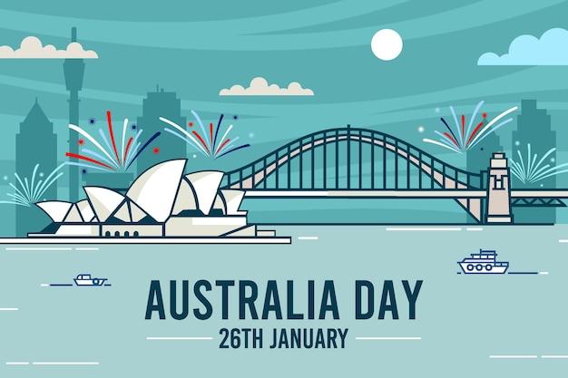 Sydney opernhaus flaches design