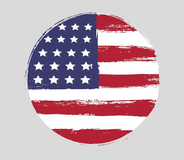 Symbol der amerikanischen flagge