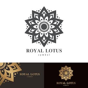 Symbol des königlichen lotos symbol
