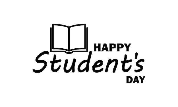 Symbol für den internationalen studententag. bildungskonzept. studium an einer universität oder hochschule. vektor auf weißem hintergrund isoliert. eps 10.