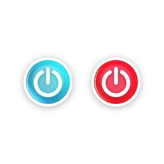 Symbol für den netzschalter