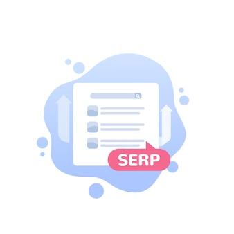 Symbol für serp- und seo-optimierung