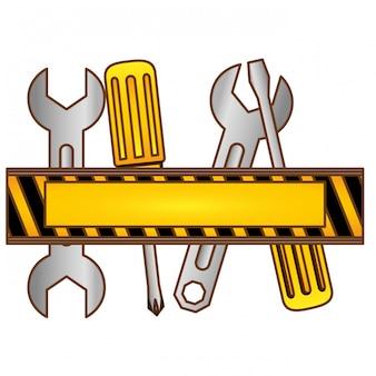 Symbol für technischen kundendienst