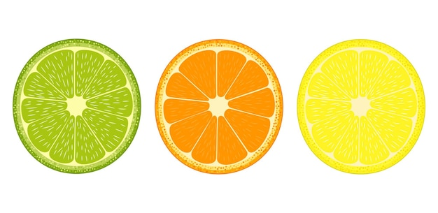 Symbol für zitrusfrüchte-scheiben
