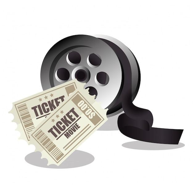 Symbol ticket film design