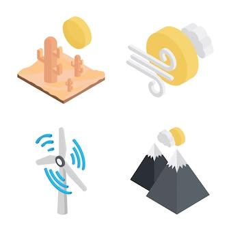Symbole für wetter und atmosphäre