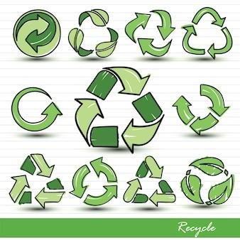 Symbole recyceln