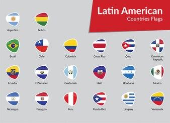 Symbolsammlung der lateinamerikanischen Flaggen