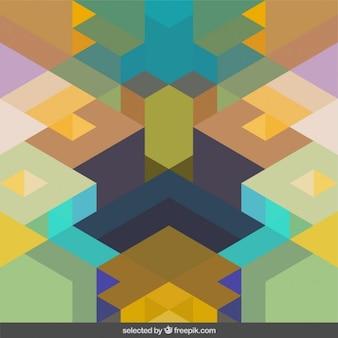 Symmetrische geometrische hintergrund