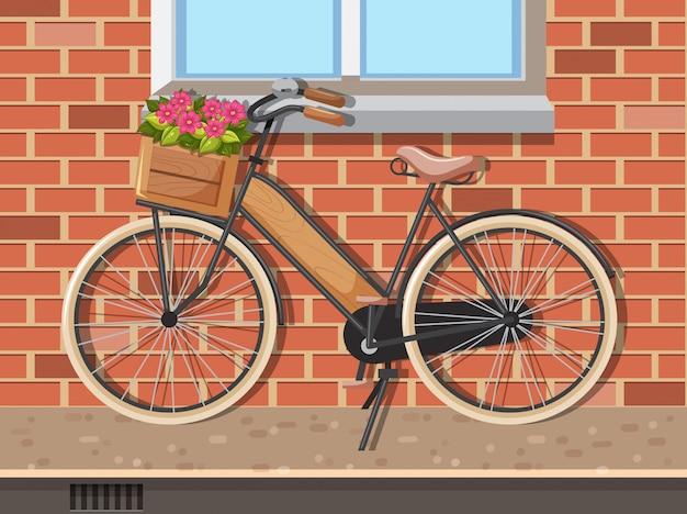 Szene mit einem fahrrad