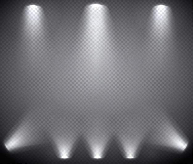 Szenenbeleuchtung von oben und unten