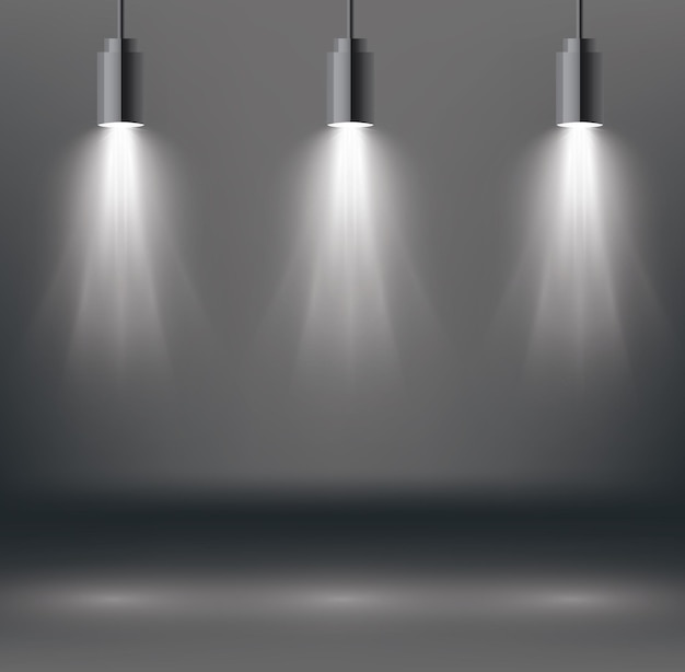 Szenenbeleuchtungseffekte mit spotlight.