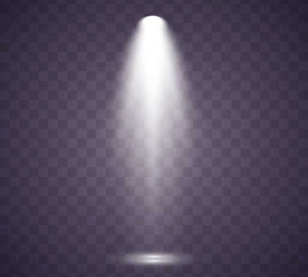Szenenbeleuchtungssammlung. licht exklusiv verwenden linsenblitzeffekt. beleuchtete szene.