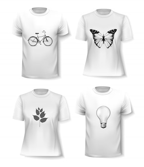 t-shirt-vorlage   kostenlose vektor