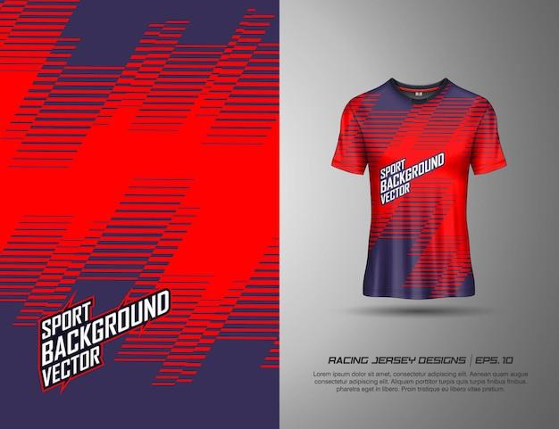 T-shirt sport design für renntrikot radfahren fußballspiel