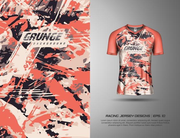 T-shirt sport modernes camouflage-design für motocross-trikot radfahren fußballspiel