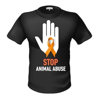 T-shirt tiermissbrauch
