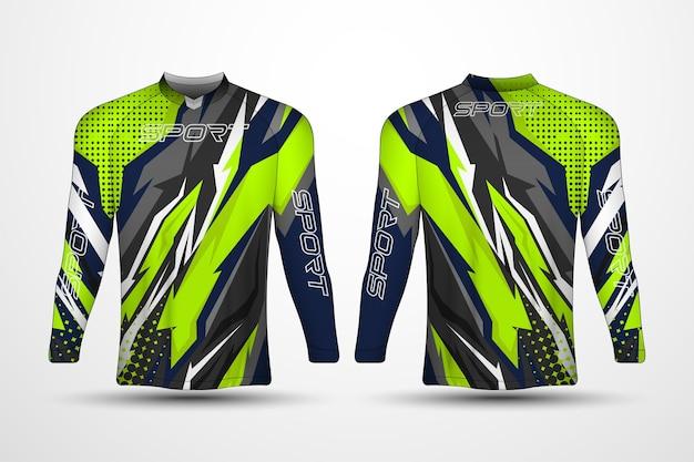 T-shirt vorlage, rennsporttrikot