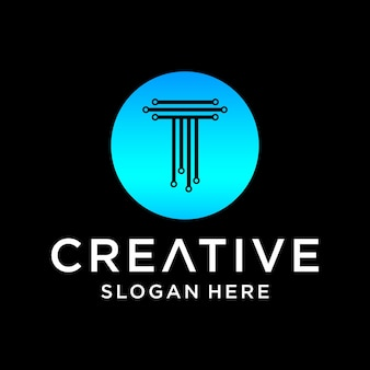 T-tech-logo-design