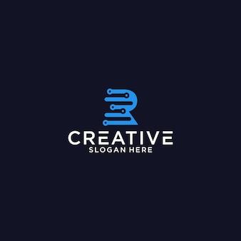 T tech-logo-grafikdesign für andere zwecke ist perfekt