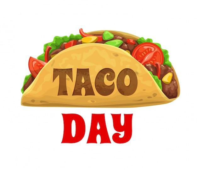 Taco-tag, nationaler mexikanischer festurlaub