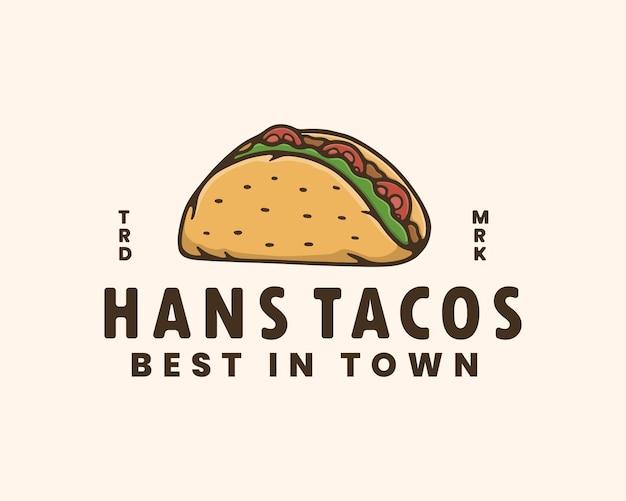 Taco vintage-logo-vorlage logo