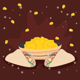 Tacos und mais