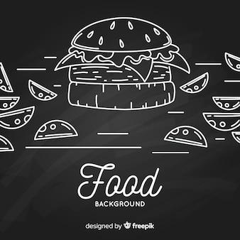 Tafel essen hintergrund