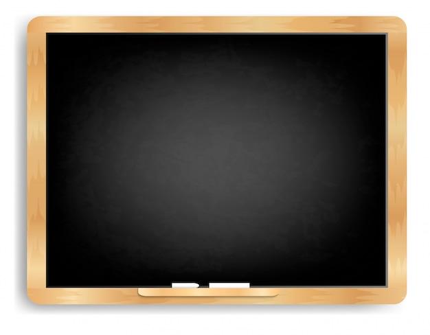 Tafel horizontal mit kreide
