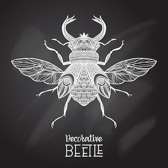 Tafel-käfer dekorativ