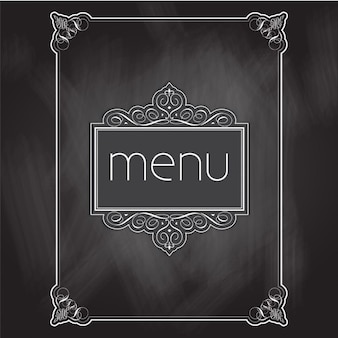 Tafel-menu design