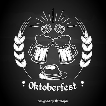 Tafel oktoberfest hintergrund