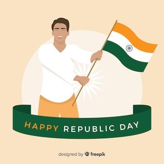 Tag der indischen republik tag
