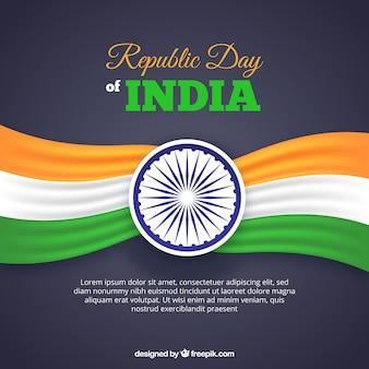 Tag der republik design mit platz für text