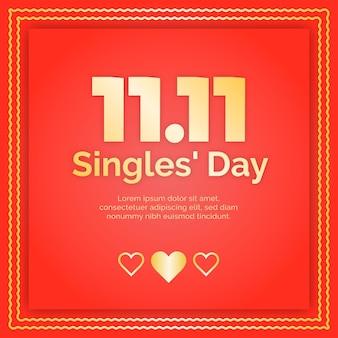 Tag der roten und goldenen singles