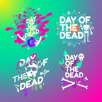 Tag der Toten Logo Formen