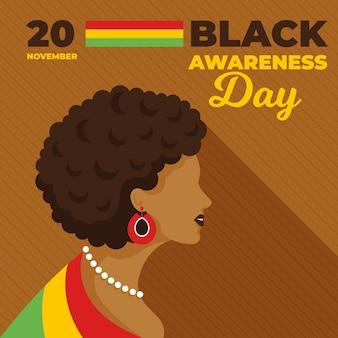 Tag des schwarzen bewusstseins